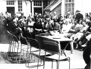 Opening of Holmes Memorial Clinic 1953