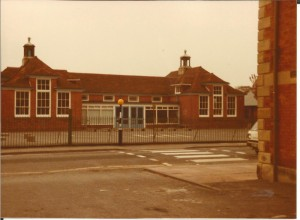 Princess Street Infant school in 1985