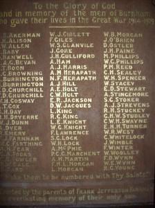 St Andrews Memorial Plaque
