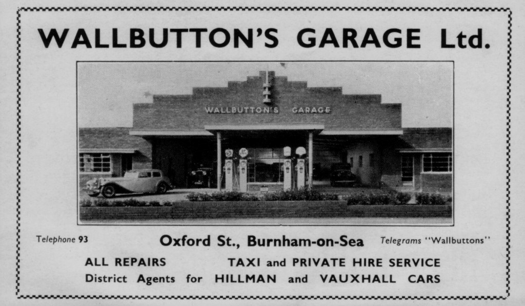 Advert from an early Burham Brochure. Note the telephone number.