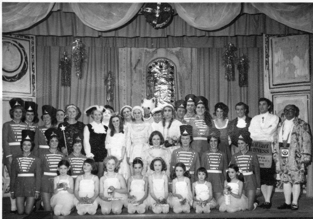 The cast of the 1970 performace of Cinderella.
