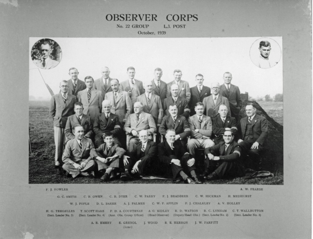 Observer Corps 1939.