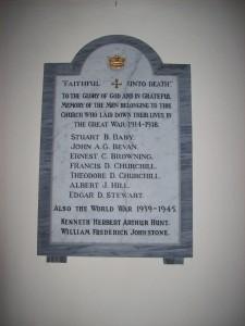 Methodist Casualties