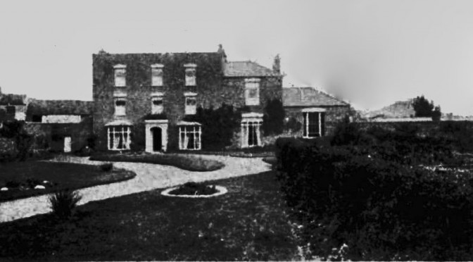 Ravensworth House. This picture also appears in the School Advertisement of 1880