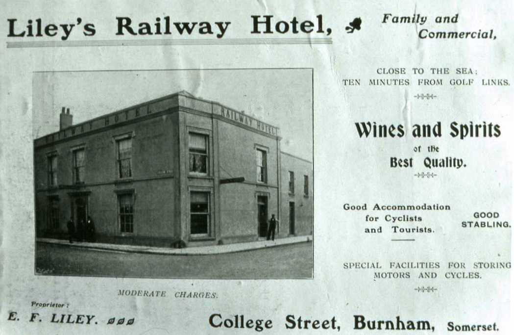 One of the two Public Houses named after the coming of the railway. From the Evan Strickland collection