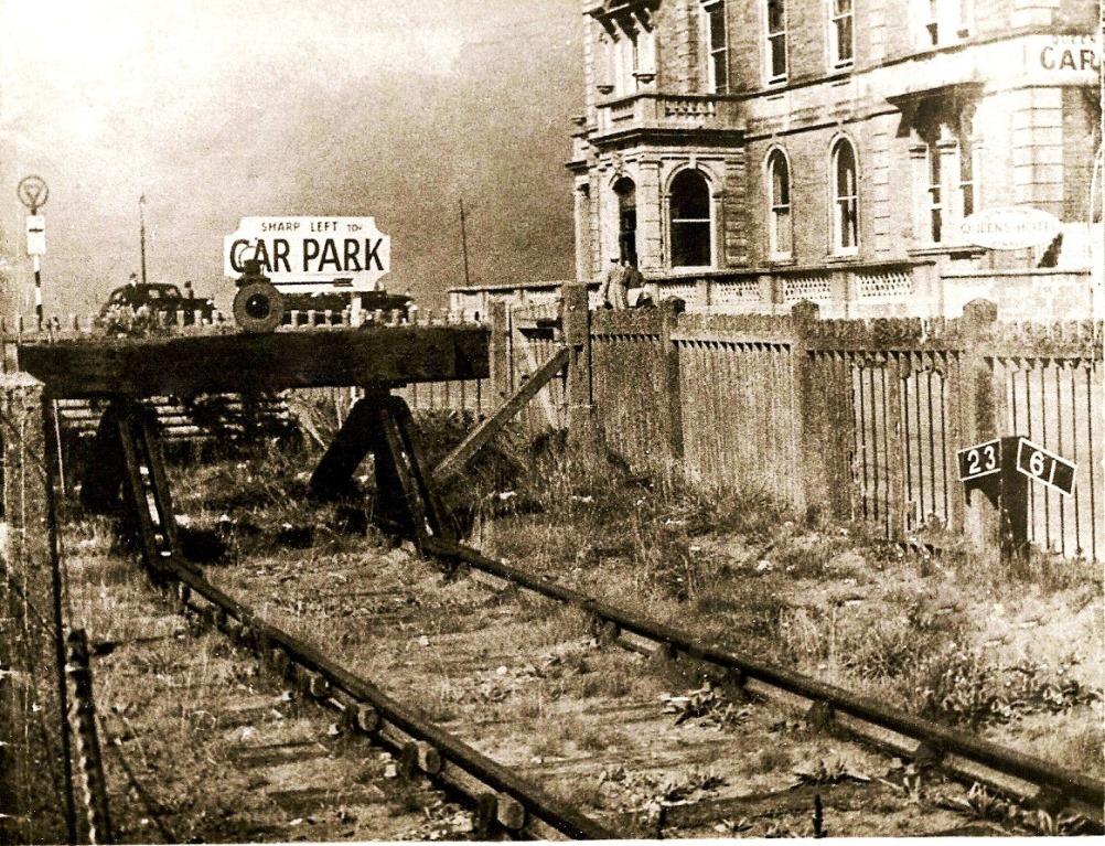 The original Buffer Stops.