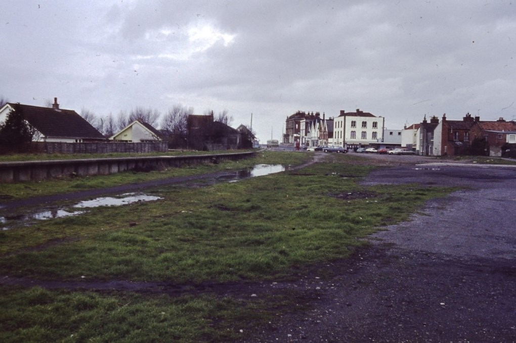 The last Excursion Platform was the last remaining structure before Marine Drive reached this area.