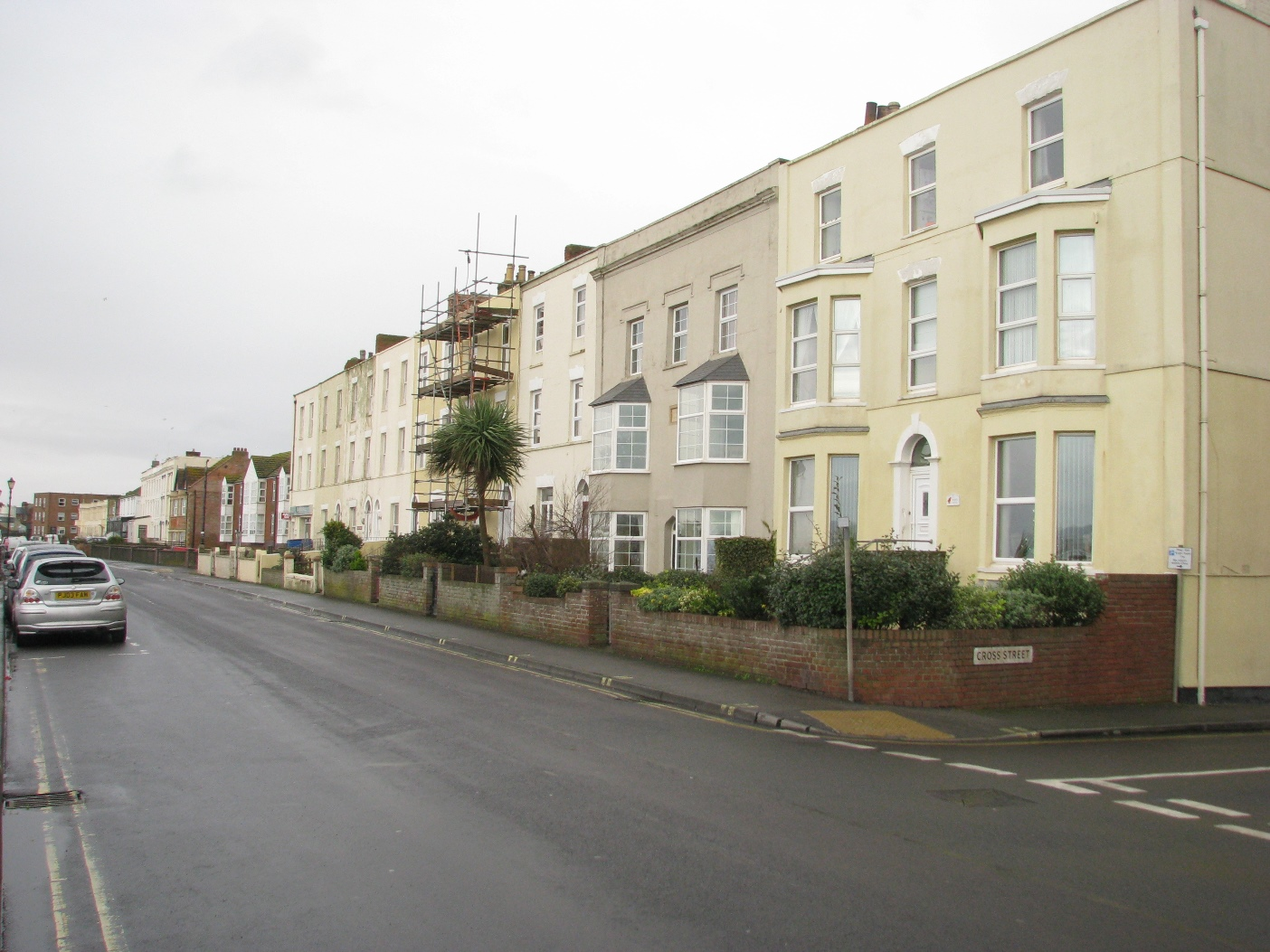 Osborne House as part of the Terrace between Cross Street and College Street