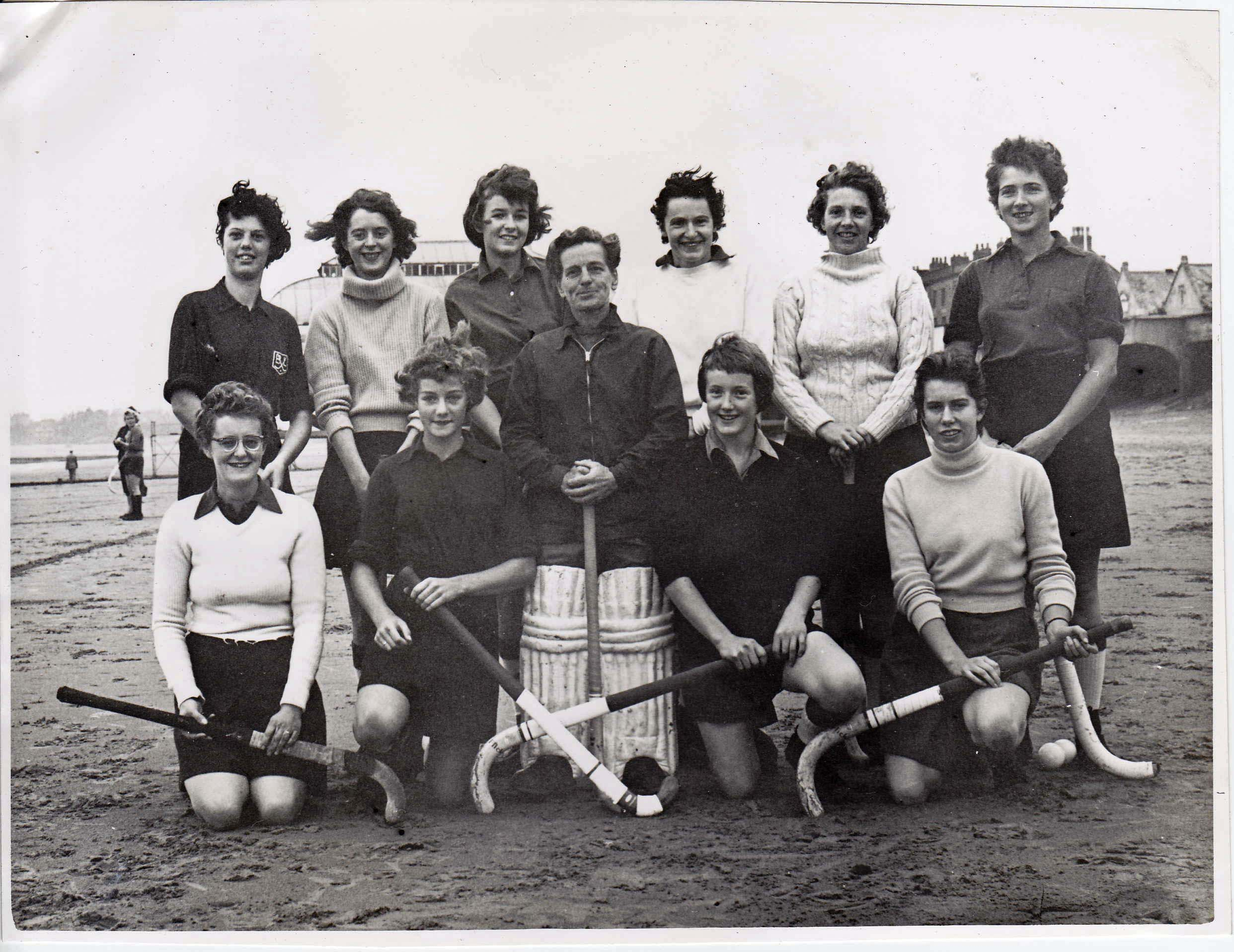 Burnham Ladies Hockey Team of 1959